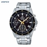 ราคา Casio Edifice นาฬิกาข้อมือผู้ชาย สายแสตนเลส รุ่น Efv 540D 1A9