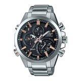 ส่วนลด สินค้า Casio Edifice นาฬิกาผู้ชาย สายสแตนเลส รุ่น Eqb 500D 1A2Dr Black Pink Gold