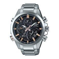 ราคา Casio Edifice นาฬิกาผู้ชาย สายสแตนเลส รุ่น Eqb 500D 1A2Dr Black Pink Gold Casio Edifice