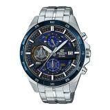 ซื้อ Casio Edifice นาฬิกาข้อมือผู้ชาย สายสแตนเลส รุ่น Efr 556Db 2Avudf สีน้ำเงิน สีเงิน ใหม่