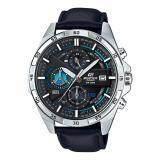ราคา Casio Edifice นาฬิกาข้อมือผู้ชาย สีดำ สายหนัง รุ่น Efr 556L 1A เป็นต้นฉบับ Casio Edifice