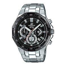 ขาย Casio Edifice นาฬิกาข้อมือผู้ชาย สีดำ สายสแตนเลส รุ่น Efr 554D 1Av ออนไลน์ Thailand