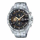 ขาย Casio Edifice นาฬิกาข้อมือผู้ชาย สีดำ สายสแตนเลส รุ่น Efr 556D 1Av ถูก สงขลา