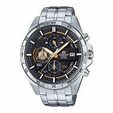 Casio Edifice นาฬิกาข้อมือผู้ชาย สีดำ สายสแตนเลส รุ่น Efr 556D 1Av ถูก