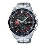 ราคา Casio Edifice นาฬิกาข้อมือผู้ชาย สีดำ สายสแตนเลส รุ่น Efr 556Db 1A เป็นต้นฉบับ