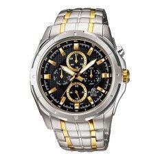 ขาย Casio Edifice นาฬิกาข้อมือผู้ชาย สีเงิน สายสแตนเลส รุ่น Ef 328Sg 1 ราคาถูกที่สุด
