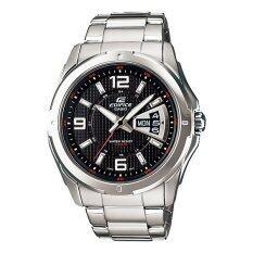 ราคา Casio Edifice นาฬิกาข้อมือ รุ่น Ef 129D 1A Black Casio Edifice