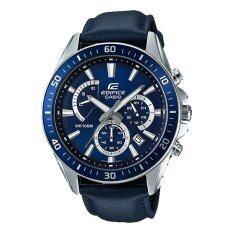 ราคา Casio Edifice นาฬิกาผู้ชาย สายสแตนเลส รุ่น Efr 552L 2Av Casio ใหม่