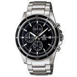 ทบทวน Casio Edifice นาฬิกาผู้ชาย สีเงิน ดำ รุ่น Efr 526D 1Avdf ประกัน Cmg