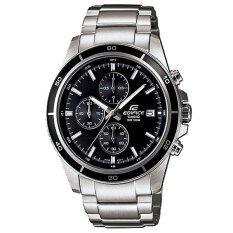 ซื้อ Casio Edifice นาฬิกาผู้ชาย สีเงิน ดำ รุ่น Efr 526D 1Avdf ประกัน Cmg ถูก กรุงเทพมหานคร