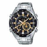 ราคา Casio Edificeนาฬิกาข้อมือผู้ชาย สายสแตนเลส รุ่นEra 600D 1A9 Silver เป็นต้นฉบับ