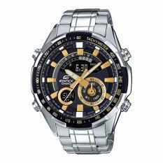ราคา Casio Edificeนาฬิกาข้อมือผู้ชาย สายสแตนเลส รุ่นEra 600D 1A9 Silver ออนไลน์