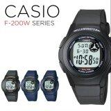 ส่วนลด Casio นาฬิกาข้อมือผู้ชาย สายเรซิน รุ่น F 200W 2B Blue Casio ไทย