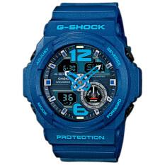 Casio G Shock Analog Digital นาฬิกาข้อมือ รุ่น Ga 310 2A สีน้ำเงิน เป็นต้นฉบับ