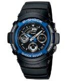 ขาย Casio G Shock นาฬิกาข้อมือผู้ชาย สายเรซิ่น รุ่น Aw 591 2Adr สีดำ น้ำเงิน Casio G Shock ใน สมุทรปราการ
