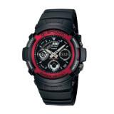 ส่วนลด Casio G Shock นาฬิกาข้อมือ รุ่น Aw 591 4Adr สีดำ แดง Black Red