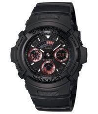 Casio G Shock นาฬิกาข้อมือผู้ชาย สายเรซิน รุ่น Aw 591Ml 1Adr Black ถูก