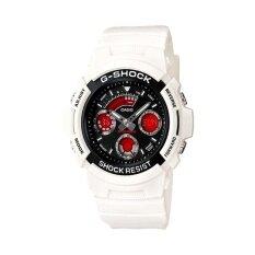 ราคา Casio G Shock นาฬิกาข้อมือผู้ชาย รุ่น Aw 591Sc 7Adr สีขาว เป็นต้นฉบับ Casio G Shock