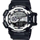 ซื้อ Casio G Shock นาฬิกาข้อมือผู้ชาย Black White สายเรซิ่น รุ่น Ga 400 1Adr ใหม่