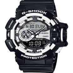 ส่วนลด Casio G Shock นาฬิกาข้อมือผู้ชาย Black White สายเรซิ่น รุ่น Ga 400 1Adr Casio G Shock ใน Thailand