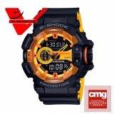 Casio G Shock ประกันCmg นาฬิกาข้อมือชาย 2 ระบบ สายเรซิ่น รุ่น Ga 400By 1A Thailand