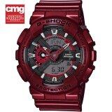ราคา Casio G Shock นาฬิกาข้อมือผู้ชาย สีแดงเมทัลลิค ประกัน Cmg รุ่น Ga 110Nm 4A เป็นต้นฉบับ