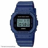 ซื้อ นาฬิกาข้อมือ Casio G Shock Denim Series รุ่น Dw 5600De 2 Casio G Shock ออนไลน์