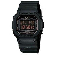 ขาย Casio G Shock นาฬิกาข้อมือผู้ชาย รุ่น Dw 5600Ms 1Dr สีดำ ถูก