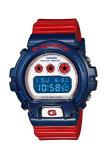 โปรโมชั่น Casio G Shock นาฬิกาข้อมือผู้ชาย สีน้ำเงิน แดง สายเรซิ่น รุ่น Dw 6900Ac 2Dr Casio G Shock