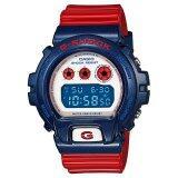 ซื้อ Casio G Shock นาฬิกาข้อมือ สุภาพบุรุษ สายเรซิน รุ่น Dw 6900Ac 2Dr สีน้ำเงิน แดง ใหม่
