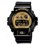 ซื้อ Casio นาฬิกาข้อมือ G Shock สีดำเงา ทอง รุ่น Dw 6900Cb 1 Casio G Shock