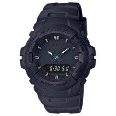 ขาย Casio G Shock รุ่น G 100Bb 1Adr นาฬิกาข้อมือสายเรซิ่น สีดำ Casio G Shock