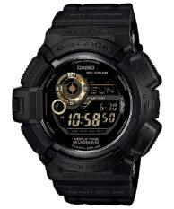 Casio G Shock นาฬิกาข้อมือ รุ่น G 9300Gb 1Dr สีดำ ทอง เป็นต้นฉบับ
