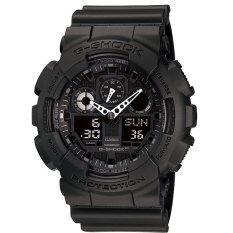 ราคา Casio G Shock นาฬิกาข้อมือ รุ่น Ga 100 1A1Dr ประกัน Cmg สีดำ Casio G Shock