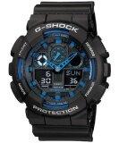 ซื้อ Casio G Shock นาฬิกาข้อผู้ชาย สายเรซิน รุ่น Ga 100 1A2Dr สีดำ ถูก สมุทรปราการ