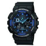 ซื้อ Casio G Shock นาฬิกาข้อมือผู้ชาย สายเรซิ่น รุ่น Ga 100 1A2Drn Black ใหม่ล่าสุด