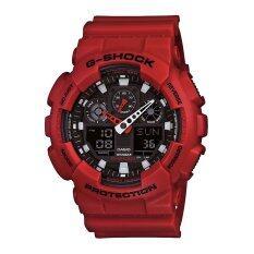 ขาย Casio G Shock นาฬิกาข้อมือผู้ชาย รุ่น Ga 100B 4Adr Red Casio G Shock