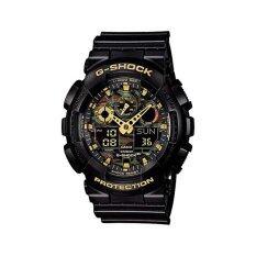 ราคา Casio G Shock นาฬิกาข้อมือผู้ชาย รุ่น Ga 100Cf 1A9Dr สีดำ Casio G Shock เป็นต้นฉบับ