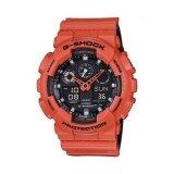 ขาย Casio G Shock นาฬิกาข้อมือผู้ชาย รุ่น Ga 100L 4Adr สีส้ม ถูก ไทย
