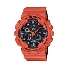 ซื้อ Casio G Shock นาฬิกาข้อมือผู้ชาย รุ่น Ga 100L 4Adr สีส้ม ออนไลน์ ไทย