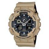 ขาย ซื้อ ออนไลน์ Casio G Shock นาฬิกาข้อมือผู้ชาย รุ่น Ga 100L 8Adr สีครีม