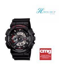 โปรโมชั่น Casio G Shock นาฬิกาข้อมือผู้ชาย สีดำ สายเรซิ่น รุ่น Ga 110 1A ประกันศูนย์เซ็นทรัลCmg 1 ปี Casio G Shock ใหม่ล่าสุด