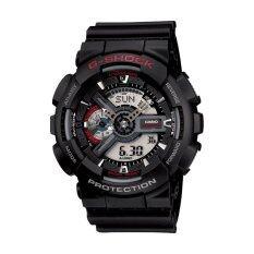 ราคา Casio G Shock นาฬิกาข้อมือผู้ชาย รุ่น Ga 110 1Adr Black ราคาถูกที่สุด