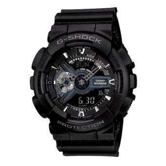 Casio G-Shock นาฬิกาข้อมือผู้ชาย สายเรซิ่น รุ่น GA-110-1B(CMG) - สีดำ