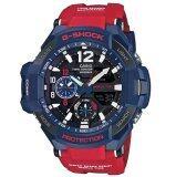 โปรโมชั่น Casio G Shock นาฬิกาข้อมือผู้ชาย สายเรซิน รุ่น Ga 1100 2Adrn สีน้ำเงิน แดง ไทย