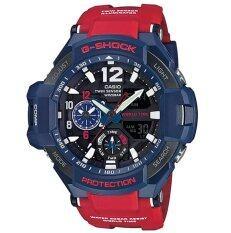 ขาย Casio G Shock นาฬิกาข้อมือผู้ชาย สายเรซิน รุ่น Ga 1100 2Adrn สีน้ำเงิน แดง ไทย