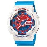 ซื้อ Casio G Shock นาฬิกาข้อมือ รุ่น Ga 110Ac 7Adr Limited Edition สีขาว ฟ้า Casio G Shock เป็นต้นฉบับ