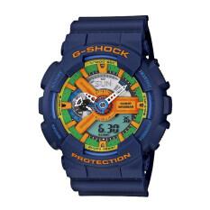 ขาย Casio G Shock นาฬิกาข้อมือ รุ่น Ga 110Fc 2Adr สีน้ำเงิน Blue ออนไลน์