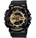 ทบทวน ที่สุด Casio G Shock นาฬิกาข้อมือผู้ชาย สีดำ สีทอง สายเรซิ่น รุ่นNga 110Gb 1Adr