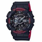 ขาย Casio G Shock นาฬิกาข้อมือผู้ชาย รุ่น Ga 110Hr 1Adr สีดำ ออนไลน์ Thailand